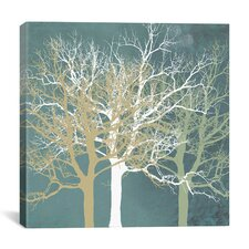 """Tranquil Trees"" by Erin Clark Graphic Art on Canvas"