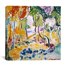 'The Joy of Life (1905)' by Henri Matisse Painting Print on Wrapped Canvas