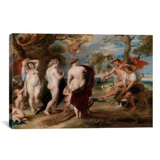 'The Judgment of Paris' by Peter Paul Rubens Painting Print on Canvas