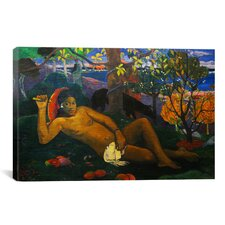'The King's Wife' by Paul Gauguin Painting Print on Wrapped Canvas