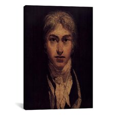 'Self Portrait 1799' by Joseph William Turner Painting Print on Wrapped Canvas