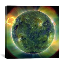 Solar Dynamics Observatory Graphic Art on Wrapped Canvas