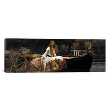 'The Lady of Shalott' by John William Waterhouse  Painting Print on Wrapped Canvas