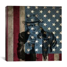 "Flags Uncle Sam, James Montgomery ""I Want You for U.S.A. Army"" Graphic Art on Canvas"