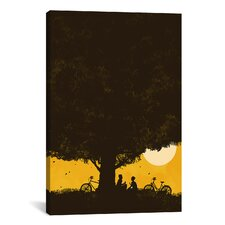 'Under Giant Oak Tree' by Budi Satria Kwan Graphic Art on Wrapped Canvas