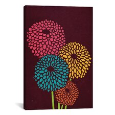 'Still Life with Chrysanthemums' by Budi Satria Kwan Graphic Art on Wrapped Canvas