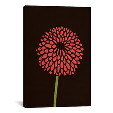 'Still Life with Single Chrysanthemums' by Budi Satria Kwan Graphic Art on Wrapped Canvas