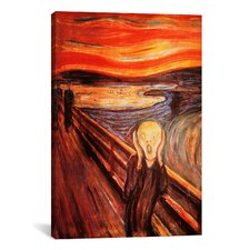 'The Scream' by Edvard Munch Painting Print on Canvas