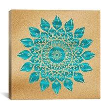 'Summer Mandala' by Maximilian San Graphic Art on Wrapped Canvas
