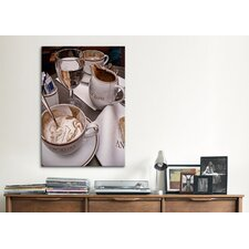 'Trip Cappucino' by Liz Zernich Painting Print on Canvas