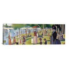 'Sunday Afternoon on the Island of La Grande Jatte' by Georges Seurat Painting Print on Canvas