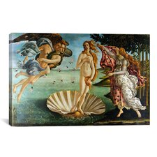 The Birth of Venus by Botticelli Sandro Painting Print on Canvas