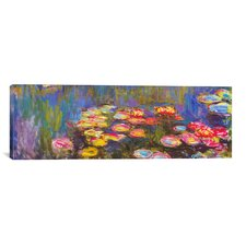 """""""Water Lilies"""" by Claude Monet Painting Print on Canvas"""