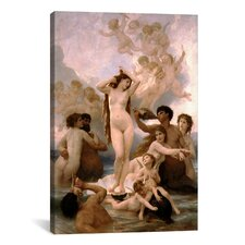 'The Birth of Venus' by William-Adolphe Bouguereau Painting Print on Wrapped Canvas