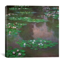 Water Lilies 1 Canvas Wall Art
