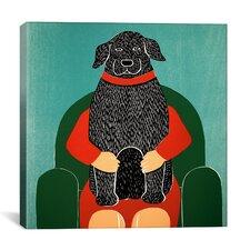 Lap Dog Canvas Print Wall Art