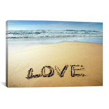 'Love' by Ben Heine Photographic Print on Wrapped Canvas