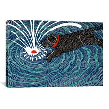 Make Waves Canvas Print Wall Art