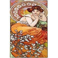Topaz, 1900 Canvas Print Wall Art