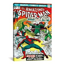 Marvel Comics Book Spider-Man Issue Cover #141 Graphic Art on Wrapped Canvas