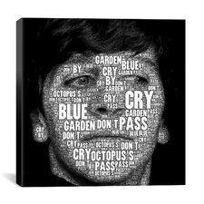 The Fab Four Songs - Ringo by Maximilian San Graphic Art on Wrapped Canvas