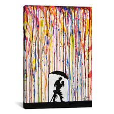 'Tempest' by Marc Allante Painting Print on Wrapped Canvas