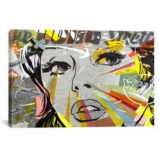The Long Stretch by Dan Monteavaro Graphic Art on Wrapped Canvas
