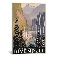 Visit Historic Rivendell Canvas Print Wall Art