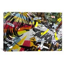 Take Away by Dan Monteavaro Graphic Art on Wrapped Canvas