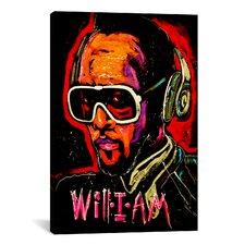 Will I Am 001 Canvas Print Wall Art