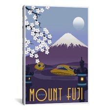 Mt Fuji Canvas Wall Art by Steve Thomas