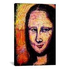 Mona 002 Canvas Wall Art by Rock Demarco
