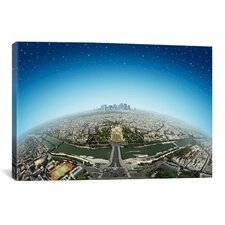 'Planet Paris' by Ben Heine Photographic Print on Canvas