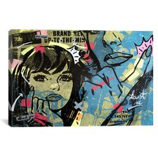 New Dramatic by Dan Monteavaro Graphic Art on Wrapped Canvas