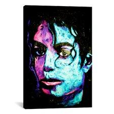 Michael Jackson 001 Canvas Wall Art by Rock Demarco