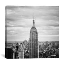 New York City Empire Canvas Wall Art by Nina Papiorek