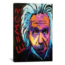 Einstein New 001 Canvas Print Wall Art