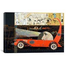 Car 21 Canvas Print Wall Art