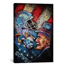 Dallas Cowboys 001 Canvas Print Wall Art