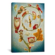 'De' Vine' by Daniel Peacock Painting Print on Wrapped Canvas