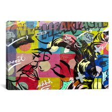 Fearless Heartache by Dan Monteavaro Graphic Art on Wrapped Canvas