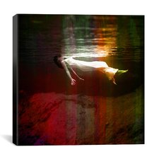 Floating Red Canvas Print Wall Art