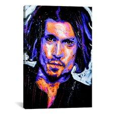Depp Art 001 Canvas Print Wall Art