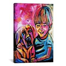 Demaio Fam Painting 001 Canvas Print Wall Art