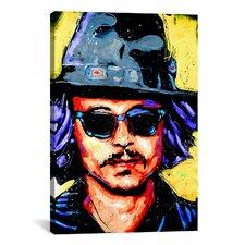 Depp Art 002 Canvas Print Wall Art