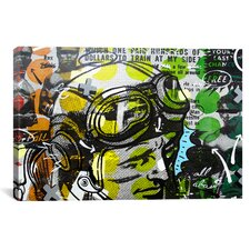 He Man by Dan Monteavaro Graphic Art on Wrapped Canvas