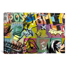 Impossible by Dan Monteavaro Graphic Art on Wrapped Canvas