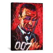Rock Demarco Bond 003 Canvas Print Wall Art