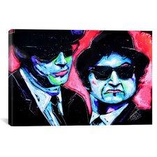 Rock Demarco Blues Bros 001 Canvas Print Wall Art