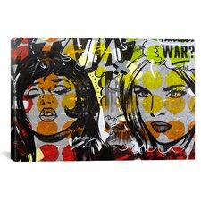 Dan Monteavaro Another War by Dan Monteavaro Graphic Art on Wrapped Canvas